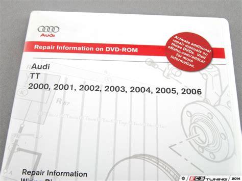 how to download repair manuals 2011 audi tt electronic throttle control ecs news audi mki tt 225hp bentley service manuals