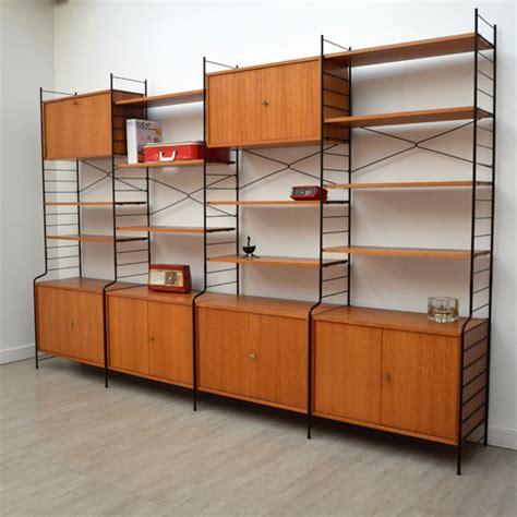 mobilier de bureaux bibliothèque scandinave ées 50