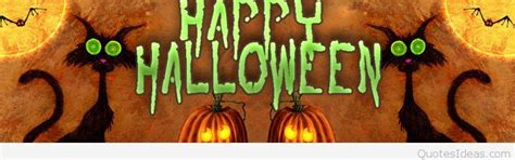 cute happy halloween banner sayings  quotes