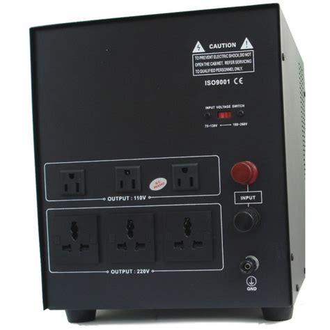 8 000 watt deluxe automatic voltage regulator converter transformer 110220volts