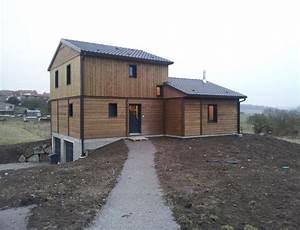 maison en bois moderne chambre enfant interieur de maison With idee maison plain pied 7 maison en bois construite en bretagne au design interieur