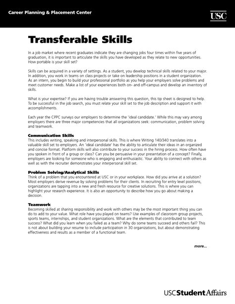 16367 skills on resume exle analytical skills cover letter exle 28 images