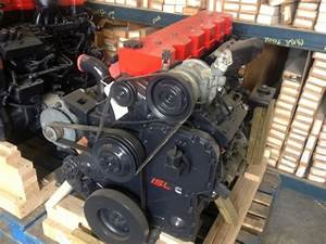 Used Cummins 8 8isl 370hp  69 034 Miles  Discount Priced