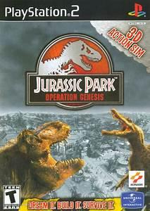 Jurassic Park Operation Genesis For PlayStation 2 2003