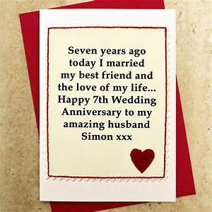 simple sample wedding anniversary card for husband sang With wedding anniversary gifts for husband