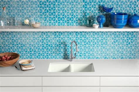 kohler kitchen sinks Kitchen Contemporary with Bright