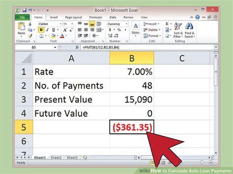 car  payment calculator world  printable