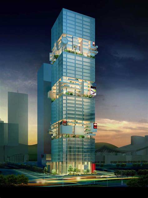 sbf tower shenzhen skyscraper hans hollein building  architect