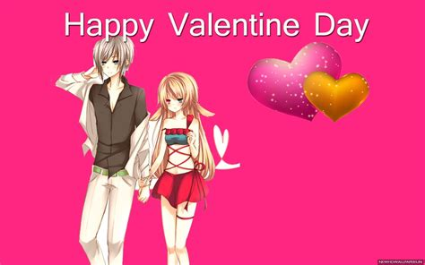 Happy Anime Wallpaper - anime valentines day wallpaper 77 images