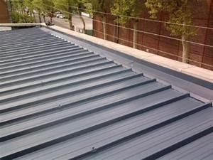 Pose De Bac Acier : toiture en bac acier ~ Nature-et-papiers.com Idées de Décoration