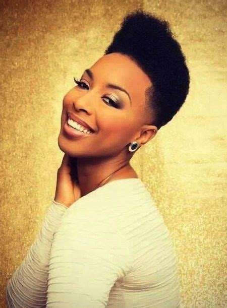 high top fade  short sides tapered natural hairstyle