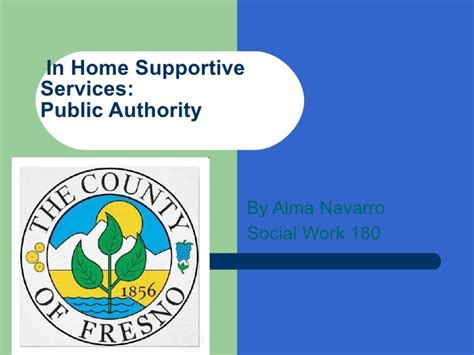 home support services in home supportive services authority fresno county