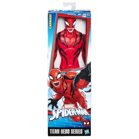 marvel spider man titan hero series villains carnage 12 quot action figure