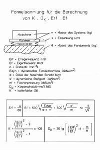 Dämpfung Berechnen : eigenfrequenz berechnen formel metallschneidemaschine ~ Themetempest.com Abrechnung
