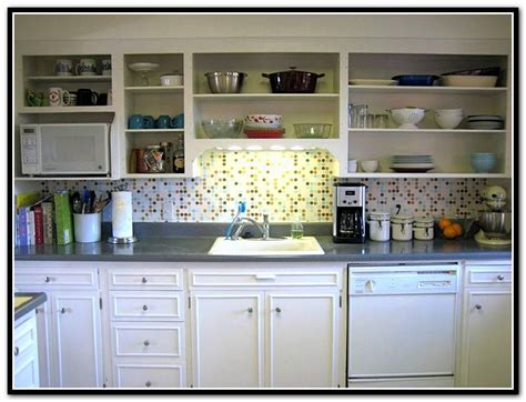 kitchen cabinets without doors two tone kitchen cabinets doors home design ideas