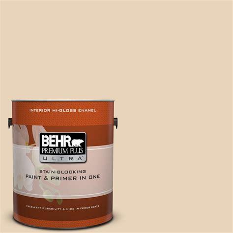 BEHR Premium Plus Ultra 1 gal. #S260 1 Plantation Tan Hi