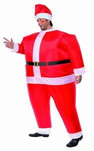 Tenue De Pere Noel : d guisement p re no l gonflable costume humoristique homme f te de fin d 39 ann e ~ Farleysfitness.com Idées de Décoration