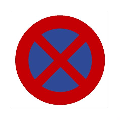 Verboten Parkverbots Schild Ausfahrt Freihalten
