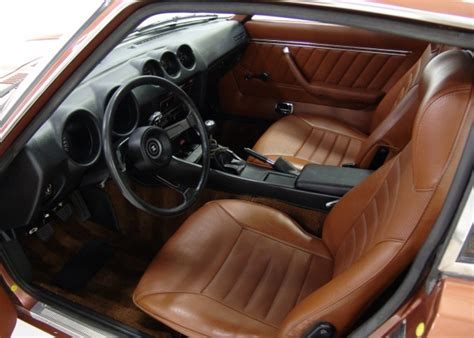 Datsun 240z Interior by Datsun 280z Stock Paint And Interior Colors Us And Canada