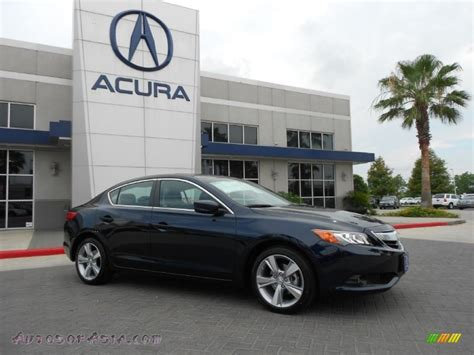 Acura Of Katy by 2013 Acura Ilx 2 0l Technology In Fathom Blue Pearl Photo