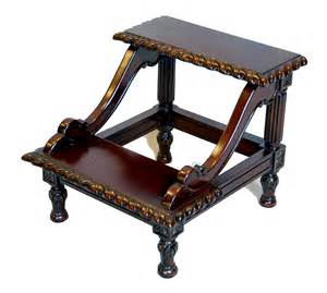 Best Bedroom Color by Jerome Solid Mahogany 2 Step Bedside Stool Ebay