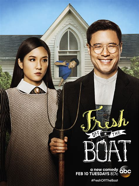 What Channel Is Fresh Off The Boat On Direct Tv by Fresh Off The Boat Channels American Gothic In Key Art