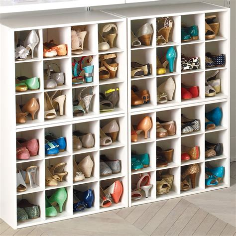 12 Pair Shoe Organizer Closet Shoes Organizer And Read More