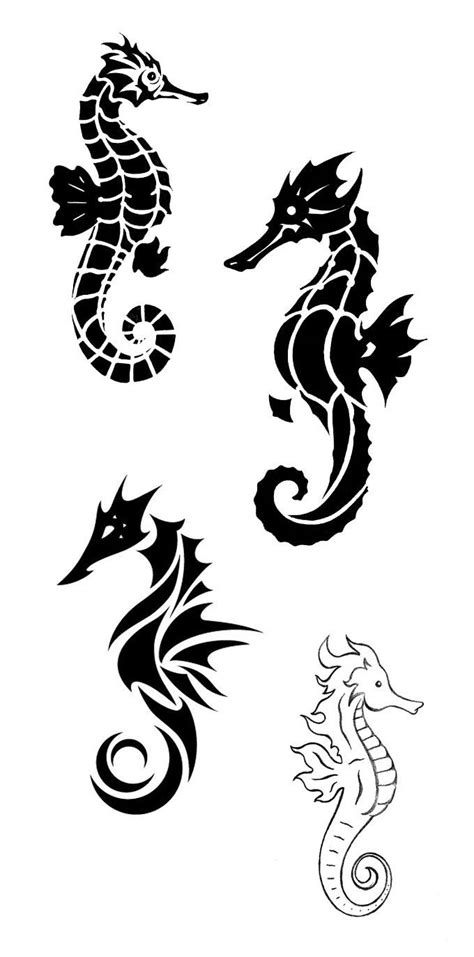 Pin by Наталия on Tattoo | Seahorse tattoo, Tattoos