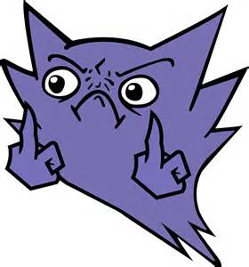 Pokemon Haunter Mean Look