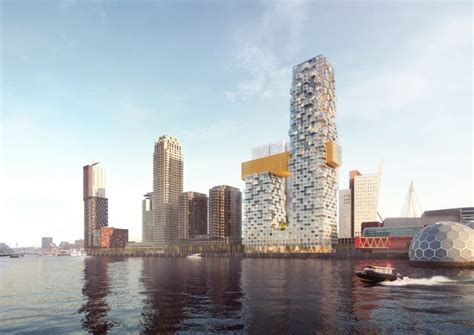 Post Kantoor Rotterdam by The Sax Mvrdv Unveils Plans For A Vertical City In