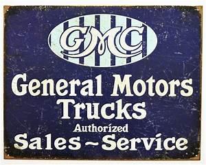 Gmc General Motors Trucks Authorized Sales Services Tin