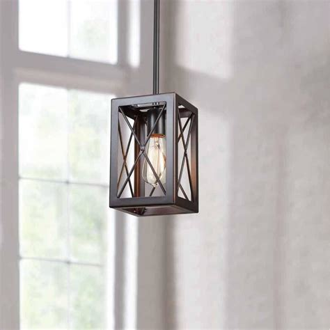 home decorators collection 1 light royal bronze mini pendant hb3533 281 the home depot