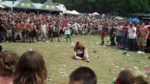 Vans Warped Tour 2010 Merriweather Post Wall of Death ...