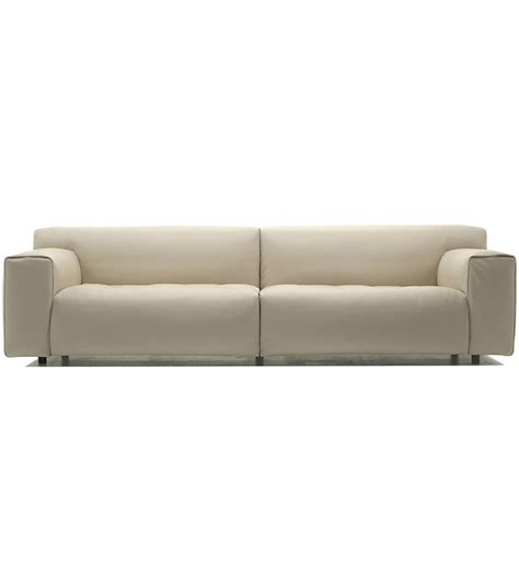 living divani sofa softwall living divani fixed sofa milia shop