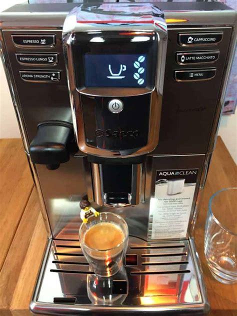beste saeco koffiemachine saeco incanto oder saeco moltio kaffeevollautomaten im