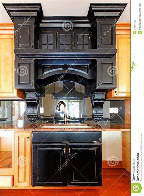 Kitchen Island And Stove Custom Wood Cabinets. New Luxury