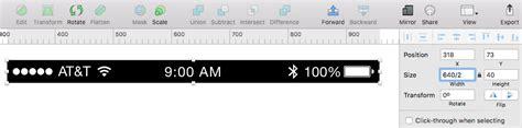 iphone status bar make 1x for iphone 5 status bar sketchtalk Iphon