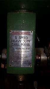Central Machinery Model 919 Drill Press