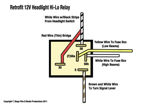 thesamba ghia view topic 1966 headlight relay differences and wiring woes