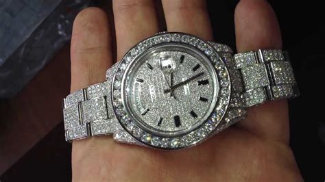 Diamond Rolex DayDate 116334 by TraxNYC - YouTube