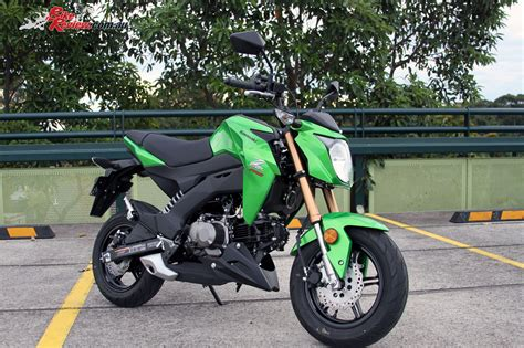 Review Kawasaki Z125 Pro by Review 2017 Kawasaki Z125 Pro Bike Review