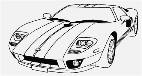 Race Car Printable Coloring Pages