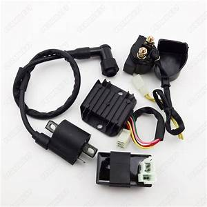 Ignition Coil Cdi Regulator Rectifier Relay Kit 150 200