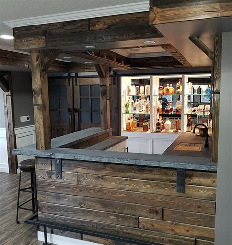 40427 rustic bar ideas bars stonetop surfaces minneapolis st paul