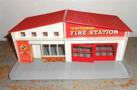 vintage toy matchbox fire station lesney product toys