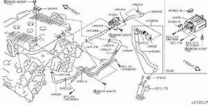 Infiniti Ex35 Evaporative Emissions System Lines  Piping