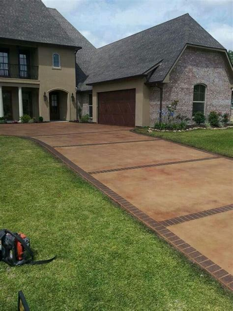 stained driveway ideas 21 best images about concrete drive way overlays on pinterest walkways concrete overlay and