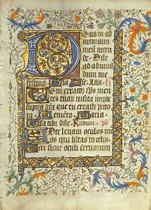 SOTW CH3 - Leaves from two illuminated manuscript Books of ...