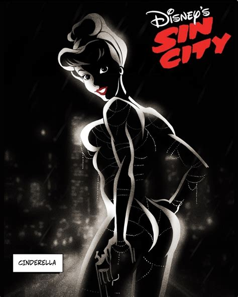 NSFW Disney Princesses Reimagined As 'Sin City' Characters ...