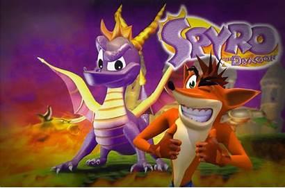 Crash Bandicoot Spyro Dragon Does Remastered